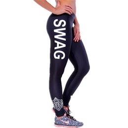 Flaco 19 Baratos-S-XL 19 Colores Mujeres Leggings Cartas Imprimir Skinny Legging Elaborar Just Do It Leggings Moda Aventura Tiempo Leggings Mujer
