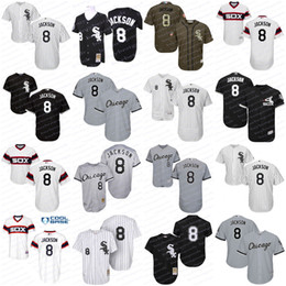 51ae6b48 2017 mens youth chicago white sox baseball jerseys 8 bo jackson jersey  flexbase Mens Customized Authentic ...