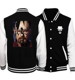 $enCountryForm.capitalKeyWord Canada - Wholesale- 2017 Spring Hot Sale Breaking Bad Heisenberg Baseball Jackets Men Fashion Hoodies Brand Clothing Men Coat Plus Size S-5XL