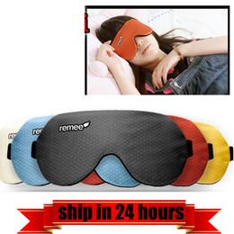 Toptan satış Toptan-Remee Lucid Rüya Maske Göz Yama Rüya Renk Led Denetleyici Şerit Erkekler Kadınlar Uyku Yama Rüya Makinesi Inception
