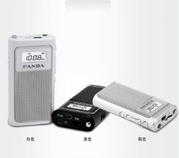 $enCountryForm.capitalKeyWord Canada - Wholesale-PANDA   Panda 6200 mini pocket portable charging the elderly MP3 card small FM radio new good
