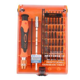 Vente en gros JAKEMY New JM-8115 Jeu de tournevis de précision 45 en 1 Démonter le téléphone portable