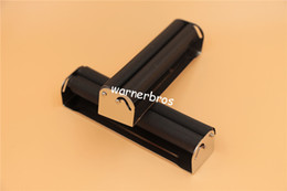 Paper Rolls For Shipping Wholesale NZ - 12pcs lot free shipping USA 70mm manual Metal Smoking Cigarette Rolling Machine hand Tobacco Roller Box injector for cigarette rolling paper