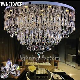 $enCountryForm.capitalKeyWord Canada - Wholesale-Modern simple led crystal ceiling lamp,luxury villa crystal k9 ceiling light,crystal lighting