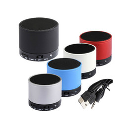 Mini Speaker Android Tablet UK - S10 Wireless Bluetooth Speaker Mini Stereo Speaker with TF Card Slot for iPhone iPad Android Cellphone Tablet PC Mp3