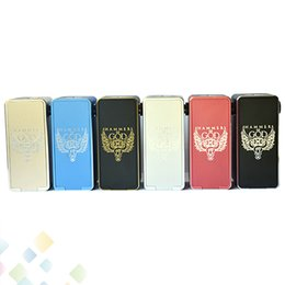 Hammer fit online shopping - Newest Hammer of God Box Mod Square Aluminum Body fit Battery RDA Hammer of God Mod DHL Free