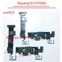 samsung usb charger port Australia - 100PCS Original new For Samsung Galaxy S6 edge plus G928A G928V Dock Connector Charger Board USB Charging Port Flex Cable