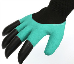 China Wholesale High Quality Garden Tools Glove With Fingertips Claws for Safe Pruning Digging Cutting Raking Carding Vegetables Flowers Planting suppliers