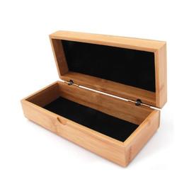 11b77378917e4 Vintage Style Bamboo Glasses Box Natural Wood Sunglasses Case Jewelry Storage  Box 16.5 7.5 5.5cm Free Shipping ZA3830