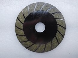 diamond cutting blades NZ - Diamond Cutting Disc Electroplated Saw Blade For Glass Jade Tile Stone 100mm Free Ship