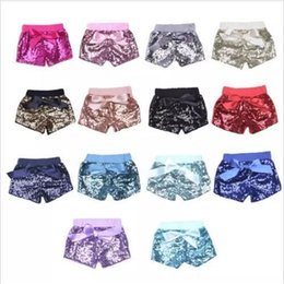 $enCountryForm.capitalKeyWord Canada - Baby Sequins Shorts Casual Glitter Pants Infant Fashion Bling Leggings Dance Boutique Bow Princess Shorts Sequins Trousers Kids Clothes 2052