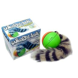 Barato Brinquedos Divertidos-Toy Dog Popular New Dog Cat Weasel Motorized Rolling Ball Funny Pet Chaser Jumping Diversão Moving Alive Toy Toy Dog