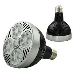 Cool umbrellas online shopping - LED Par30 W Spotlight Par Bulb Light E27 Indooor high power Lamp black white body V V