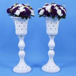$enCountryForm.capitalKeyWord NZ - Elegant White Wedding Decoration Props Vase Styles Roman Column Road Guide T Station Aisle Shooting Supplies 4 pcs