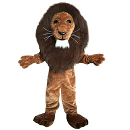 Lion Cartoons Canada - Lion Mascot Costumes Cartoon Character Adult Sz 100% Real Picture 001