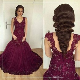 $enCountryForm.capitalKeyWord Canada - 2017 New Cheap Prom Dresses Sweetheart Evening Dress Grape Lace Appliques Beaded Mermaid Long Party Dress Pageant Plus Size Formal Gowns