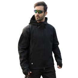 Waterproof Military Jacket UK - TAD Brand Jacket V4.0 Military Tactical Men Jacket Lurker Shark Skin Soft Shell Waterproof Windproof Men Winter Jacket Coat