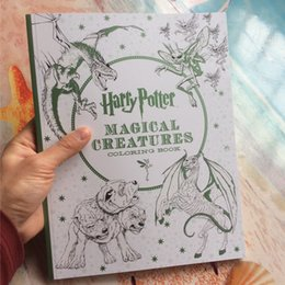 96 Pages Harry Potter Coloring Book For Adults Secret Garden Series Libros Para Colorear Adultos Colouring