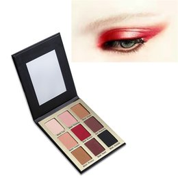 Discount meet matte eyeshadow - 2017 Hot New COCOSH SHE 9 Color Meet Matt(e) Eye Shadow Palette Brand Makeup Nude Matte Eyeshadow Palette From alisky
