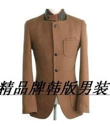 $enCountryForm.capitalKeyWord Canada - 2017 new arrival brown Korean teenage fashion casual wool coat men trench jackets mens wool coats overcoats dress winter S - 3XL