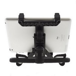 mini stand for tablet UK - Wholesale-Universal Car Back Seat Headrest Mount Holder Stand Bracket Kit For Samsung Galaxy Tab 10.1 Tablet For iPad Mini 4 3 2