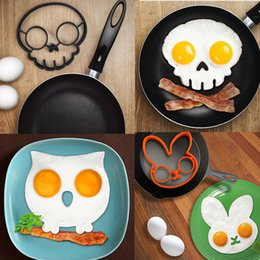 $enCountryForm.capitalKeyWord Canada - Breakfast Silicone Rabbit Owl Skull Smile Fried Egg Mold Pancake Ring Shaper Cooking Tools Kitchen Gadgets Kid Gift ELH030