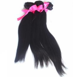 KinKy brazilian hair weave styles online shopping - Unprocessed Brazilian Straight Human Hair Weaves A Grade Virgin Hair Bundles inch Body Wave Deep Wave Kinky Straight More Style Choose