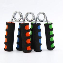 Ingrosso Schiuma portatile Hand Grip Expander per palestre Gym Exerciser Foam Hand Gripper Forza da polso Avambraccio Attrezzature per il fitness 1000 pezzi OOA2711