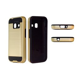 Cover for samsung Core prime online shopping - Hybrid Daul Layer Brushed Armor Case Cover for Samsung Galaxy CORE PRIME G360 J1 mini J3 pro J1 MINI PRIME J2 PRIME YY
