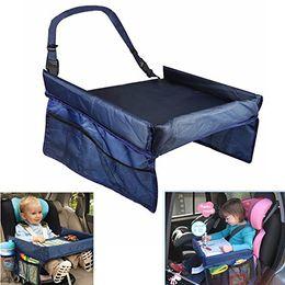 $enCountryForm.capitalKeyWord Australia - Baby Car Safety Seat Snack & Play Lap Tray Portable Table Kid Travel Portable Safety Kids Car Seat Travel Tray Activity Drawing Board Table