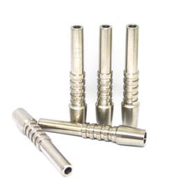nectar collector grade kit 2019 - Titanium Nectar Collector Tip Titanium Nail 10mm 14mm 18mm Inverted Nail Grade 2 Domeless Ti Nail For Nectar Collector K