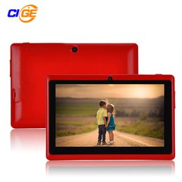 $enCountryForm.capitalKeyWord UK - Wholesale- 7 inch Quad core Q88 1.5GHz android 4.4 tablet pc Q8 allwinner A33 RAM 512MB ROM 8GB Capacitive Screen 1024x600 Dual camera WIFI