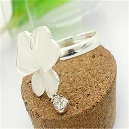 $enCountryForm.capitalKeyWord Australia - Rings Crystal Butterfly Rings Designs China Jewelry Fashion Jewelry Wholesale Personality Cheap Trend Women Rings Christmas Gift