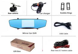 $enCountryForm.capitalKeyWord Australia - BEIBEIKA 5.0 inch HD Blue LCD Screen Android GPS Navigation Mirror Car DVR