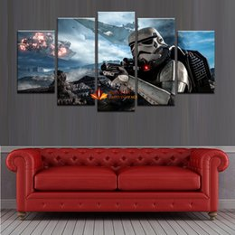 $enCountryForm.capitalKeyWord Australia - Wholesale HD Print 5 Piece Canvas Painting Home Decor Wall Art Picture Painting For Living Room Large Canvas Art Cheap