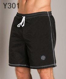 $enCountryForm.capitalKeyWord Australia - stone Famous Shorts Men Summer Pant Sport Trouser France italy design Short Pant Men Trousers Black White Dark Blue Colors