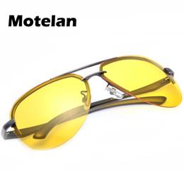 $enCountryForm.capitalKeyWord UK - Wholesale- Yellow Lens New Pilot Sunglasses Men Night Driving Glasses Man Polarized Sunglasses UV400 Protection Night Vision Glasses 343