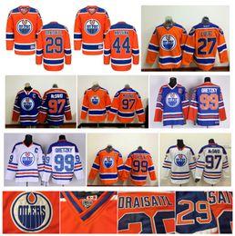 fbbec7bf453 97 Connor McDavid Jersey 99 Wayne Gretzky 44 Zack Kassian 27 Milan Lucic 29  Leon Draisaitl Authentic Edmonton Oilers Cheap Hockey Jerseys cheap cheap  milan ...