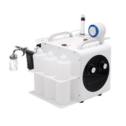 Ultrasonic Hot Cold Machine UK - water dermabrasion face cleaning ultrasonic cold and hot hammer oxygen spray machine