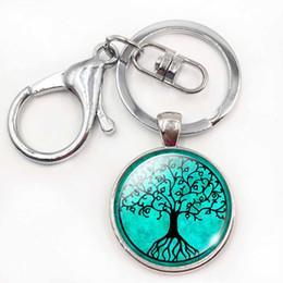 $enCountryForm.capitalKeyWord Canada - Tree of Life Keychain Tree of Life Jewelry Nature Glass Dome Pendant Christmas Gift for Girls Bag Pendant