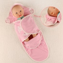 Newest Newborn Baby Sleeping Bags With Pillow Wrap Swaddling Baby Decorative  Pillow