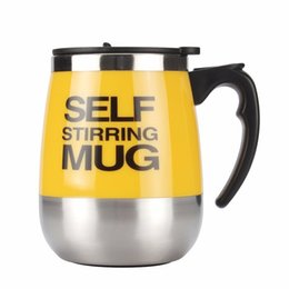 $enCountryForm.capitalKeyWord UK - Creative Lazy Person Products Electric Self Stirring Cup Mugs Stainless Steel Automatic Tea Coffee Mixing Cup Office Home