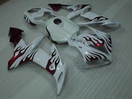 $enCountryForm.capitalKeyWord Australia - Full Body Kits for YAMAHA YZFR1 2006 Fairing Kits YZFR1 04 06 White Red Flame Plastic Fairings YZF1000 R1 04 05 2004 - 2006