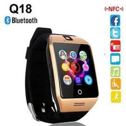 $enCountryForm.capitalKeyWord Australia - NFC Bluetooth Smart Watch Q18 With Camera FM Facebook SMS MP3 Smartwatch Support Sim Card For IOS Android Phone