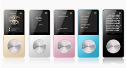 New 4GB 8GB 16GB Metal MP3 MP4 Player Slim Sport MP4 Game Lcd Flash Hifi Mini Music Video Player FM Radio TF Recorder on Sale