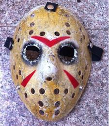 Black Jason Mask Canada - More Type Black Friday NO.13 Jason Voorhees Freddy hockey festival party Halloween masquerade mask (adult size) 100gram