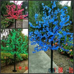 Discount landscape tree lighting LED waterproof outdoor landscape garden peach tree l& simulation 1.8 meters 864 & Discount Landscape Tree Lighting | 2018 Led Landscape Tree ... azcodes.com