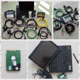 laptop set Australia - newest 2017 diagnostic-tool for mb star c4 for bmw icom a2 with laptop x201t (i7 4g) newest 2in1 hdd 1tb full set ready