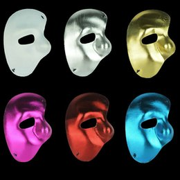 phantom opera party mask Australia - 60pc Party mask half face mask 2020 Phantom of the Opera - right half of the face cloth mask H53