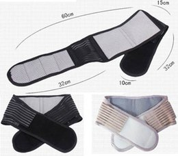 Lumbar Strap Canada - In Stock Slimming Massager Belt Lower Support Waist Lumbar Brace Belt Strap Health Care Free shipping 500pcs